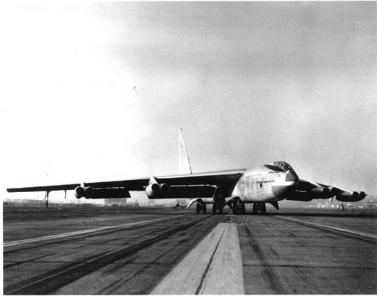 The B-52 Elevator Also Has Limited Control Authority