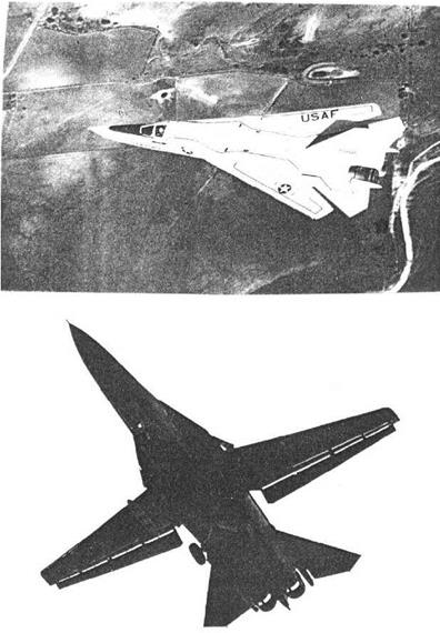 The F-111 Aardvark, or TFX