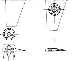 Ducted propeller and fan-in-wing configurations