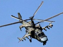 More than hundred new helicopters received the Air Force of Russia in 2013