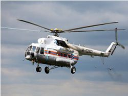 The Ministry of Emergency Situations called a probable cause of crash of the helicopter in Tuva