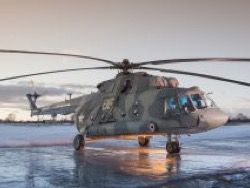 The Ministry of Defence of the Russian Federation received new party Mi – 8MTB – 5-1