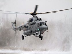 The Ministry of Defence ordered the Arctic helicopters
