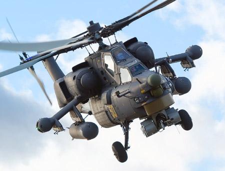 Heavenly opustoshitel: Mi-28Н there are on night hunting