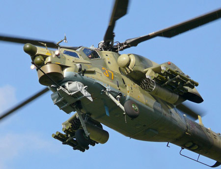Heavenly opustoshitel: Mi-28Н there are on night hunting