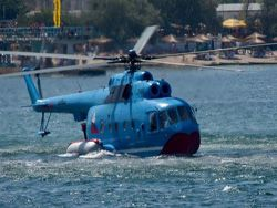 About the amphibian helicopter Mi-14ПС