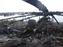 Rebels of DNR brought down three more helicopters of army aircraft