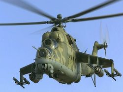 Near Kiev the military helicopter broke, one person was lost