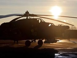 Reuters: in Syria the Russian helicopter
