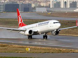 The Turkish Airlines plane sat down in Canada because of threat of explosion