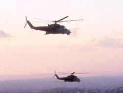 The Syrian insurgents brought down two helicopters