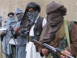 Talibs fired at the airport of Kabul and burned Karzais helicopter