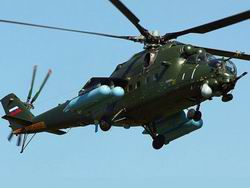 The Ukrainian military opened fire on helicopters of Russia