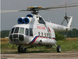 The helicopter Mi-8