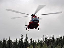 In Tuva started to look for the missing Mi-8