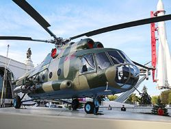 The helicopter in Moscow did not fall, but the joke was successful
