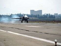 The Russian Federation aviagroup in Syria made 107 fighting departures in 2 days
