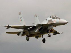 Su-30МКИ beat Typhoons on a zero