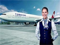 Turkish Airlines stopped flights over Sinai