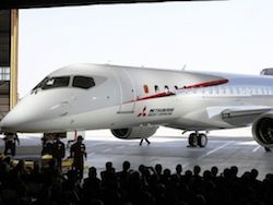 In Japan tests of the competitor of SuperJet-100