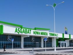 In Turkmenistan air passengers in large quantities remove from flights